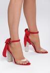 Czerwone Sandały Of Gold