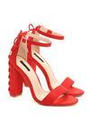 Czerwone Sandały On Thin Ice