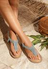 Niebieskie Sandały To The Claskys