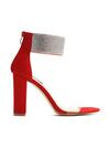 Czerwone Sandały Sophisticated