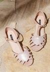 Beżowe Sandały Wild Enough