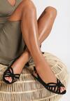 Czarne Sandały Witty