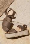 Khaki Sandały Toxic