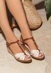 Beżowe Sandały Got You