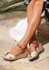 Beżowe Sandały She Is Crazy