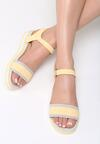 Żółte Sandały Imperturbable