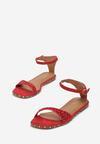 Czerwone Sandały Sprinkle Of Shine