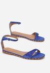 Kobaltowe Sandały Sprinkle Of Shine