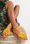 Żółte Sandały Outsider