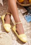 Żółte Espadryle Better Me