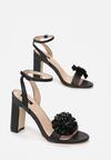 Czarne Sandały Contemporary