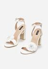 Białe Sandały Contemporary