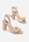 Beżowe Sandały Contemporary