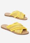 Żółte Klapki Boston Fern
