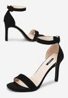 Czarne Sandały Whyfor