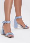 Niebieskie Sandały Emphasize