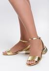 Złote Sandały Accentuate