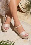 Beżowe Sandały Furiously