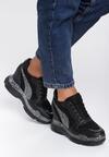 Czarne Sneakersy Praise