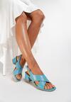Niebieskie Sandały Prickly
