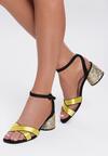 Żółte Sandały Coladeira