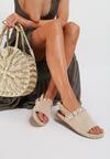 Beżowe Sandały Refurbish