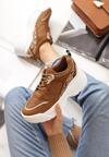 Camelowe Sneakersy Maren