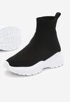 Czarno-Białe Sneakersy Dearborn