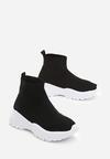 Czarno-Białe Sneakersy Bradley