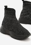 Czarne Sneakersy Gilmerton
