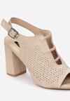 Beżowe Sandały Aphophe