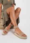 Khaki Sandały Aelixie