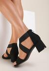 Czarne Sandały Zelisiphe