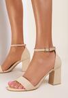 Beżowe Sandały Danamene