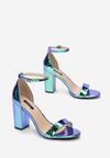 Niebieskie Sandały Halirith