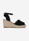 Czarne Sandały Aririth