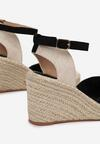 Czarne Sandały Synatai