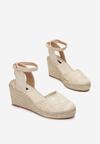 Beżowe Sandały Synatai