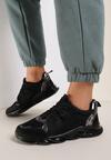 Czarne Sneakersy Gathalise