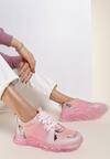 Różowe Sneakersy Gathalise