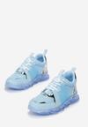 Niebieskie Sneakersy Gathalise