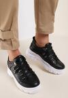 Czarne Sneakersy Aquaguna