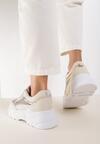 Beżowe Sneakersy Kaineva