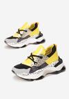 Żółte Sneakersy Leuceris