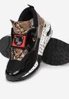 Czarne Sneakersy Coniferous