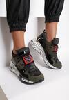 Oliwkowe Sneakersy Coniferous