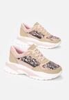 Różowe Sneakersy Thenos