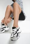 Biało-Czarne Sneakersy Wherever I Go