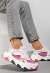 Różowe Sneakersy Lagurien