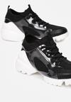 Czarne Sneakersy Athizithe